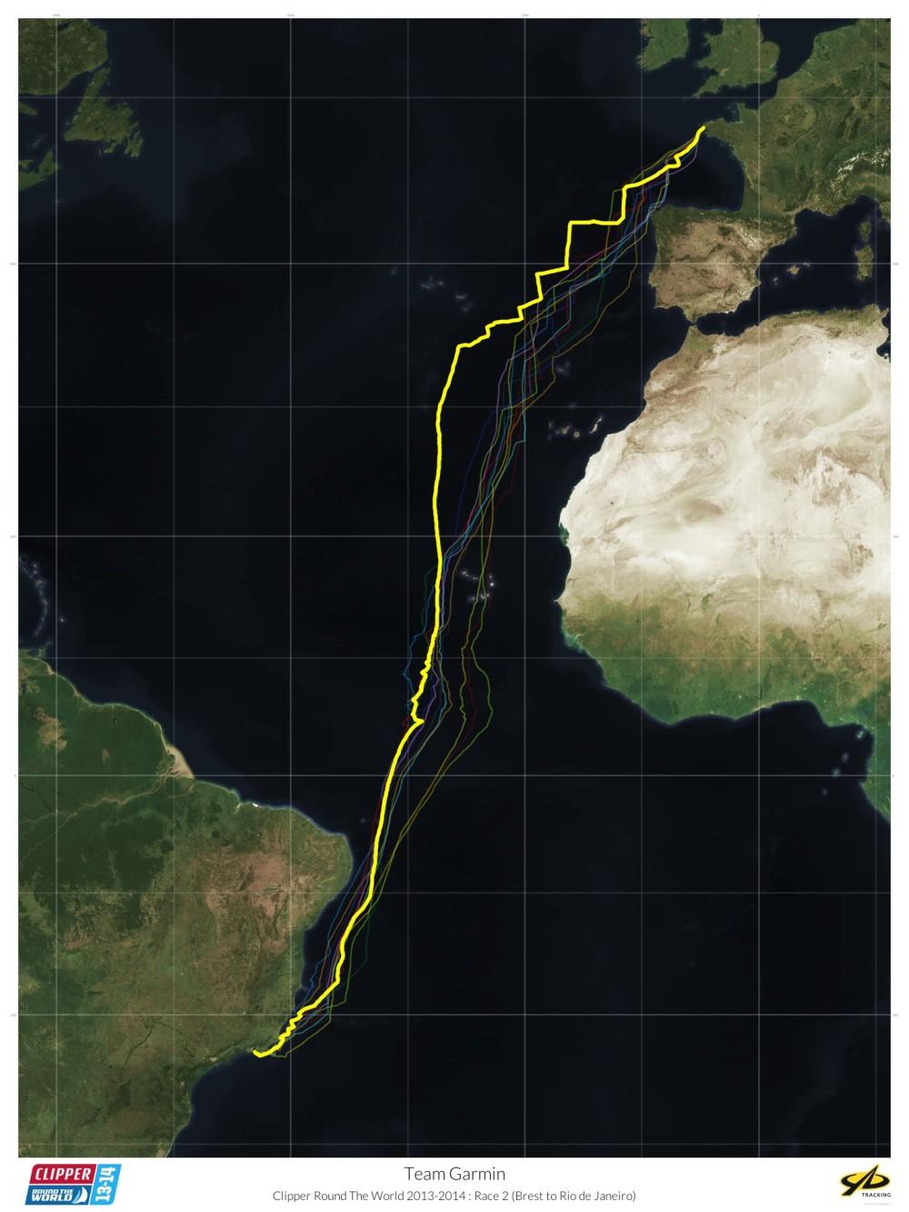 Leg 1 - Brest to Rio