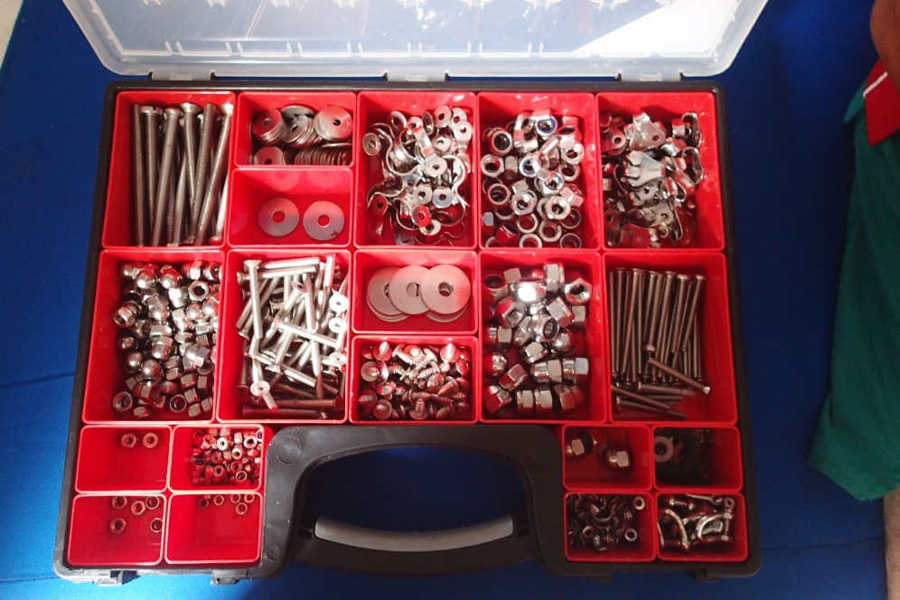 Nothing more satisfying than well organised nuts and bolts :)