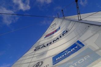 Big sail.