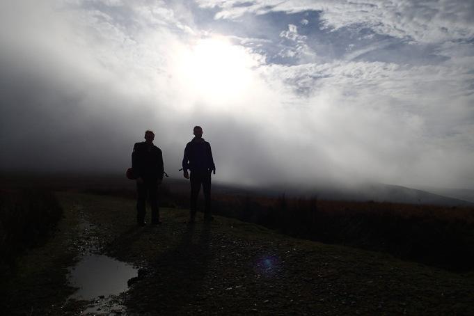 Walking through clouds...