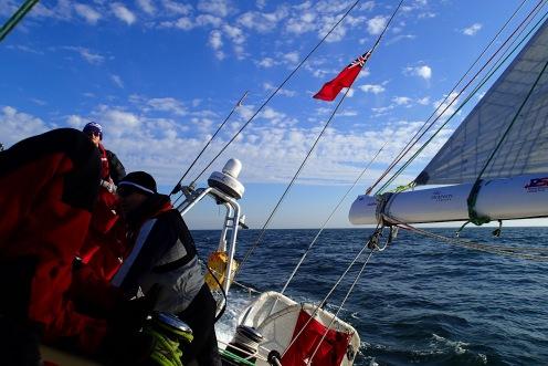 North Sea crossing
